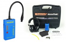accutrak ultrasonic leak detectior vpe gooseneck ultrasonic leak detector professional kit
