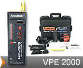 accutrak vpe 2000 ultrasonic leak detector air leak detector