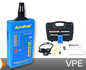 accutrak ultrasonic leak detection vpe ultrasonic leak detector