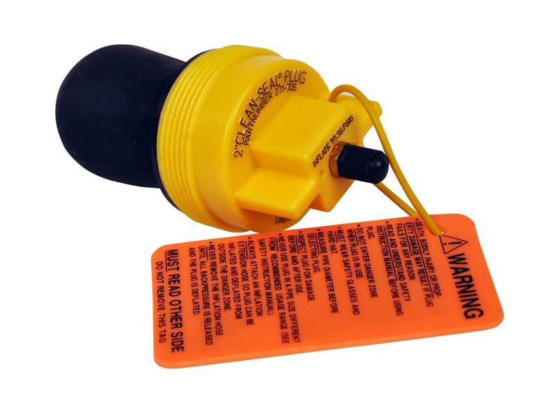 Quot npt clean seal plug