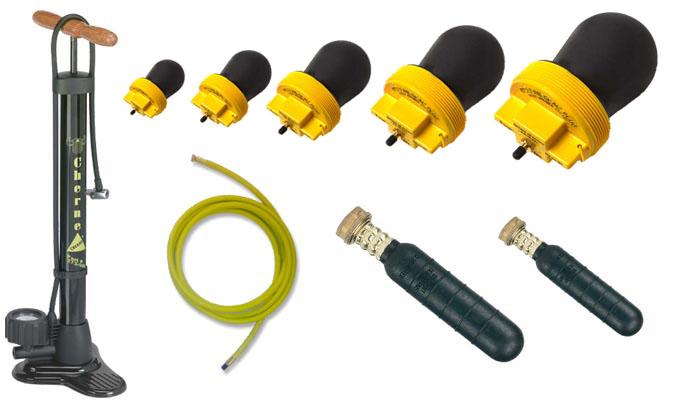 Plumber plug kit csv clean seal variety