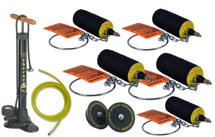 Plumber plug kit tbv test ball variety