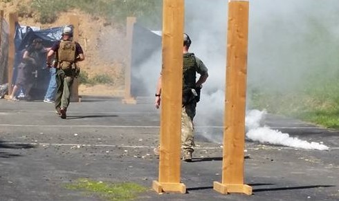 Smoke used for Military and Law Enforcement Training