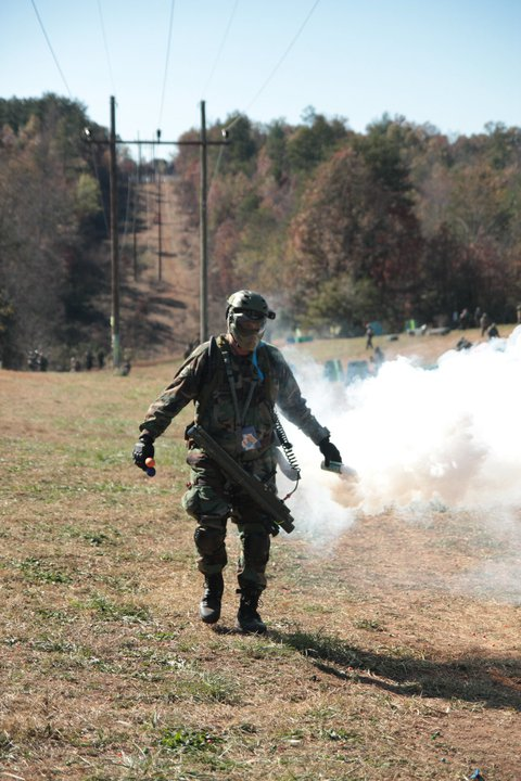 Sport smoke grenades for paintball and airsoft