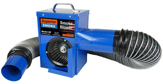 5E Electric Smoke Blower for Plumbing Leak Detection
