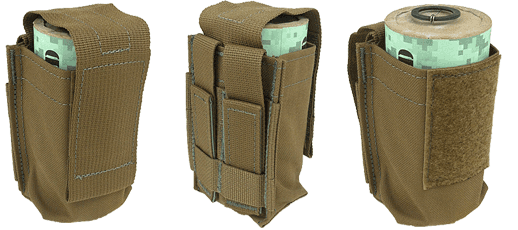BattleField Smoke Grenade Pouch Coyote Brown