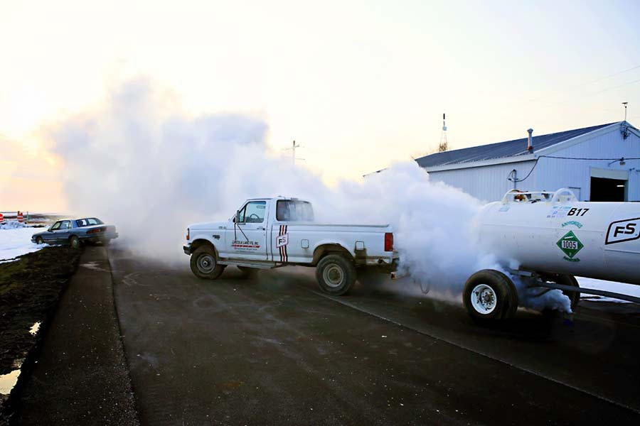 Smoke used to simulate IED and disaster scenarios