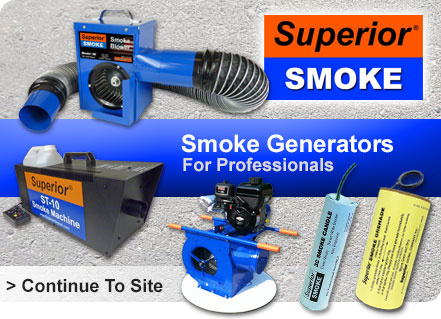 superior signal smoke generators sewer testing fire training smoke blowers