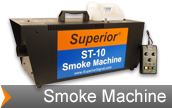 Smoke machine used to simulate IED smoke