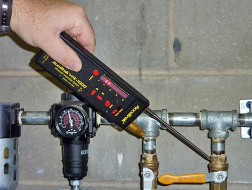 Valve and Steam Trap Testing with AccuTrak Ultrasonic Leak Detectors