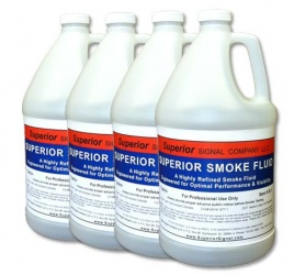 Superior Smoke Fluid (4) 1 Gallon Jugs
