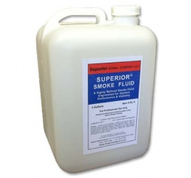 Superior Smoke Fluid 5 Gallon Jug