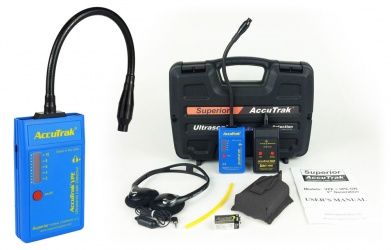 AccuTrack VPE GN Ultrasonic Leak Detector Plus Kit
