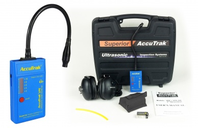 AccuTrack VPE GN Ultrasonic Leak Detector Professional Kit