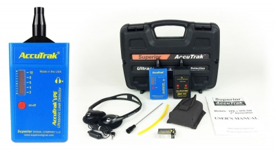 AccuTrack VPE Ultrasonic Leak Detector Plus Kit