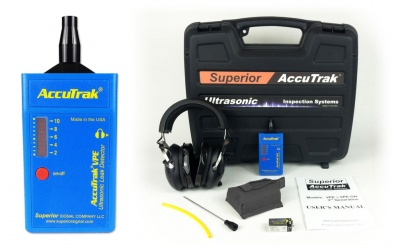 AccuTrack VPE Ultrasonic Leak Detector Professional Kit