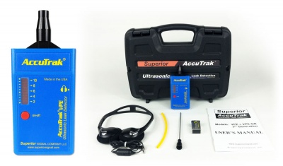 AccuTrack VPE Ultrasonic Leak Detector Standard Kit