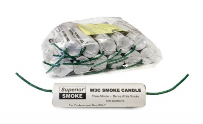 Superior W3C Smoke Candle
